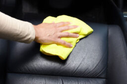 repair car seat cover leather